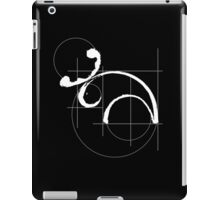 Vitruvian Moose (dark side) iPad Case/Skin