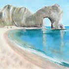 Durdle Door Summer Beach by Ben Durrant