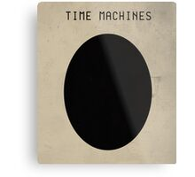 """Coil - """"Time Machines"""" Poster Metal Print"""