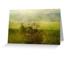 Sunlight Hikers Greeting Card