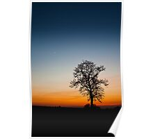 Volcanic Sunset - Barwell, Leicestershire Poster