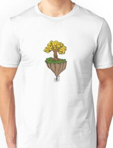 The Earth is Beautiful - Tree Floating Unisex T-Shirt