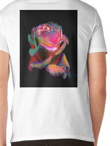 Lovely Rose. Mens V-Neck T-Shirt