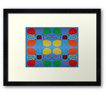 ABSTRACT 736 Framed Print