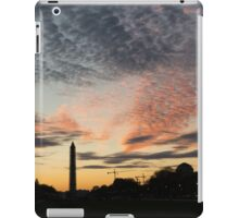 Mother Nature Painted the Sky Over Washington, DC Spectacular iPad Case/Skin