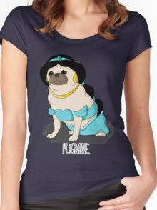 Pugmine! Women's Fitted Scoop T-Shirt