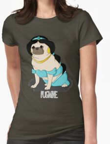 Pugmine! Womens Fitted T-Shirt