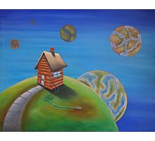 house planet  Photographic Print