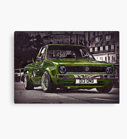 Caddy's Can Canvas Print