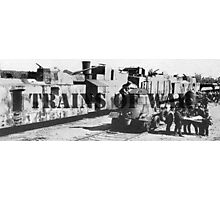 Trains of War Photographic Print