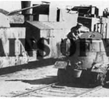 Trains of War Sticker
