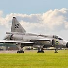 Viggen stopping fast by Colin Smedley