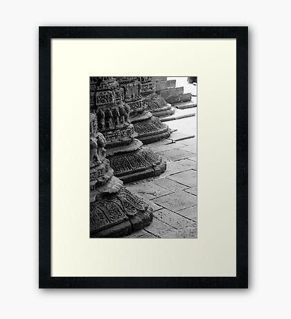 Pillars of Ancestry  Framed Print