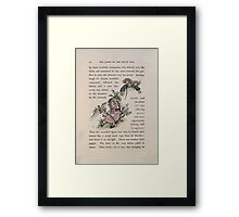 The Queen of Pirate Isle Bret Harte, Edmund Evans, Kate Greenaway 1886 0036 In a Bush Framed Print