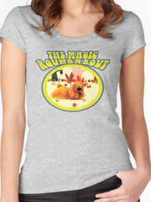 The Magic Roundabout - Doogle Women's Fitted Scoop T-Shirt