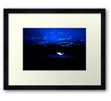 the NIght is Magic Framed Print