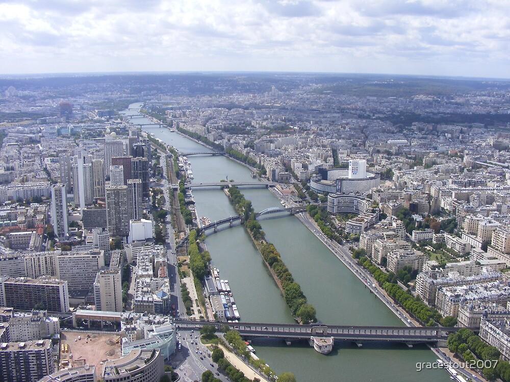 PARIS VIEW #2 by gracestout2007