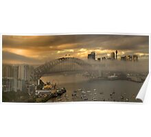 Play Misty  - Sydney Harbour (HDR Panorama) - The HDR Experience Poster