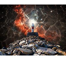 Electric Space Lights Photographic Print