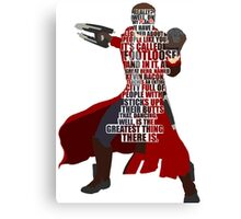 Star lord typography Canvas Print