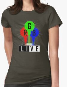 Live-RGB Womens Fitted T-Shirt