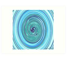 (UMAR ) ERIC  WHITEMAN ART  Art Print