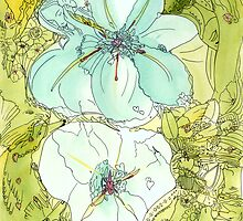 i-flowers-01 by Annie Conn