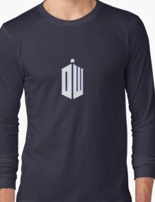 Doctor Who - Logo #3 Long Sleeve T-Shirt