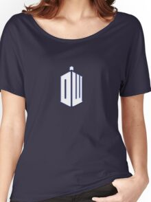 Doctor Who - Logo #3 Women's Relaxed Fit T-Shirt