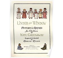 Under the Window Pictures and Rhymes for Children Edmund Evans and Kate Greenaway 1878 0009 Title Plate Poster
