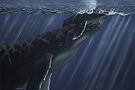 First Breath - Humpback Whales by Heather Ward