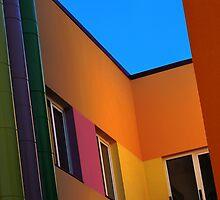 Colourful corner by Bluesrose