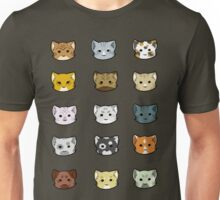 Clutter of Cats Unisex T-Shirt