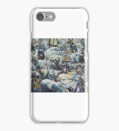 Wilderbeast Patterns iPhone Case/Skin