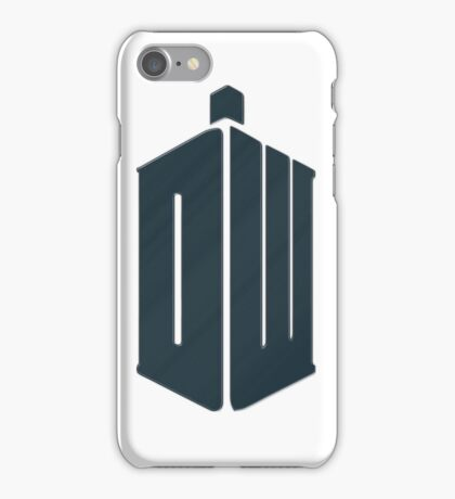 Doctor Who - Logo #4 iPhone Case/Skin