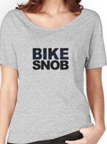 Bike Snob / bicycle snob - blue Women's Relaxed Fit T-Shirt