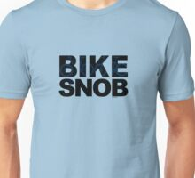 Bike Snob / bicycle snob - blue Unisex T-Shirt