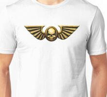 Imperial Skull and Wings Gold Unisex T-Shirt