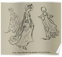Kate Greenaway Collection 1905 0234 Pencil Sketch Poster