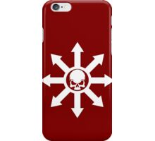 Mark of Chaos White iPhone Case/Skin