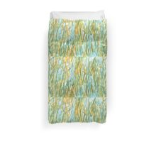 Reeds in the river Duvet Cover