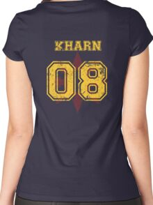 Team Captain: Kharn Women's Fitted Scoop T-Shirt