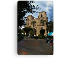 The Magnificent Center Of Cuenca Canvas Print