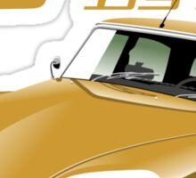 Citroën DS 60 years gold Sticker