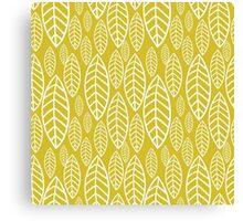 Vector leaf seamless pattern Canvas Print