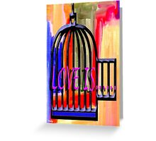 LOVE IS 10 Greeting Card