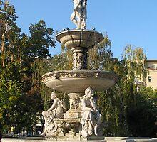 Danubius fountain by Elena Skvortsova