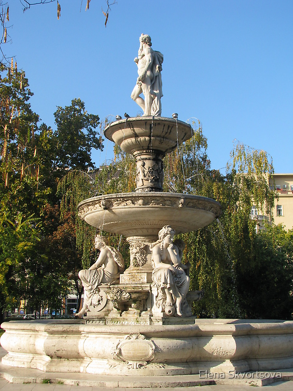 Danubius fountain by Elena Skvortsova