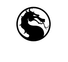 Mortal Kombat - Black Logo by Magnate