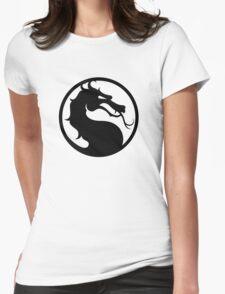 Mortal Kombat - Black Logo Womens Fitted T-Shirt